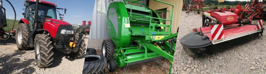 Tracteurs agricoles d'occasion, chariots téléscopiques d'occasion, tout votre matériel et engins d'occasion avec Georges Equipement