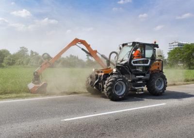 Tracteurs porte-outils pour les collectivités Treemme MC
